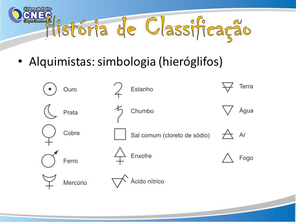 Alquimistas: simbologia (hieróglifos)