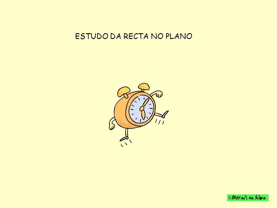 ESTUDO DA RECTA NO PLANO