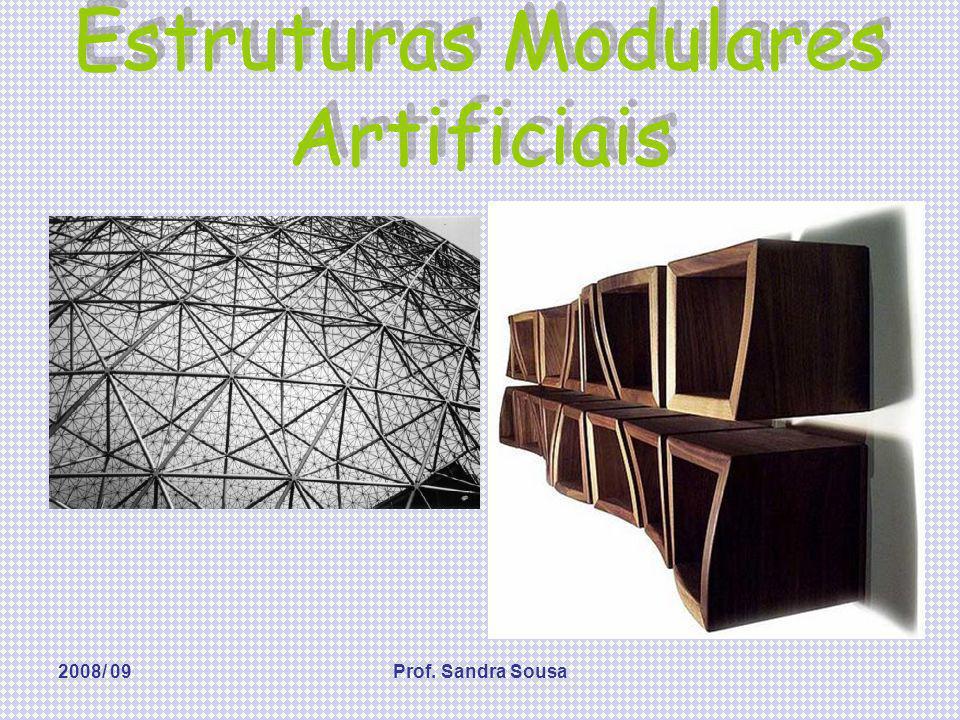 2008/ 09Prof. Sandra Sousa Estruturas Modulares Artificiais