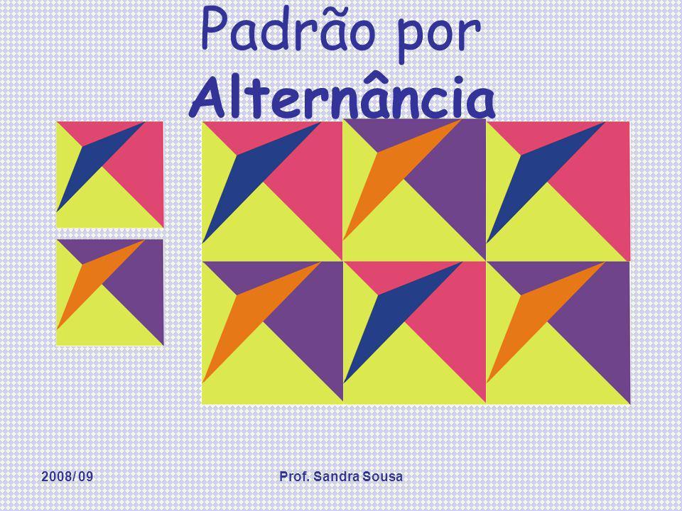2008/ 09Prof. Sandra Sousa Padrão por Rotação