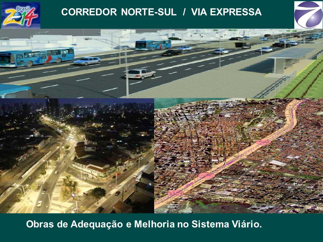 CORREDOR NORTE-SUL / VIA EXPRESSA Obras de Adequação e Melhoria no Sistema Viário.