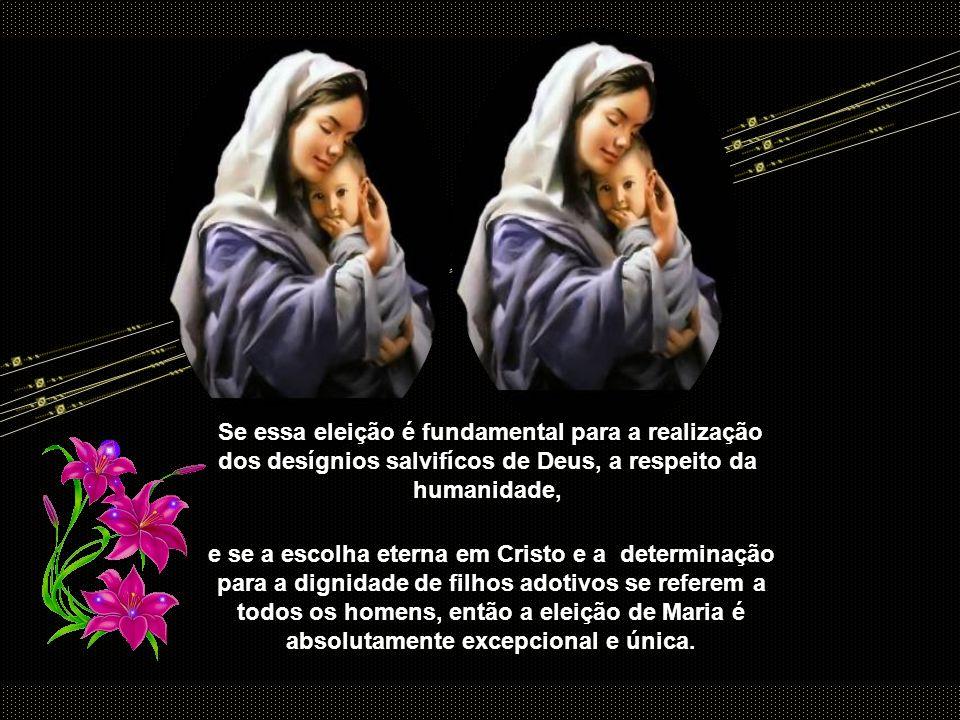 Todavia, a plenitude de graça, indica ao mesmo tempo toda profusão de dons sobrenaturais com que Maria é beneficiada em relação com o fato de ter sida