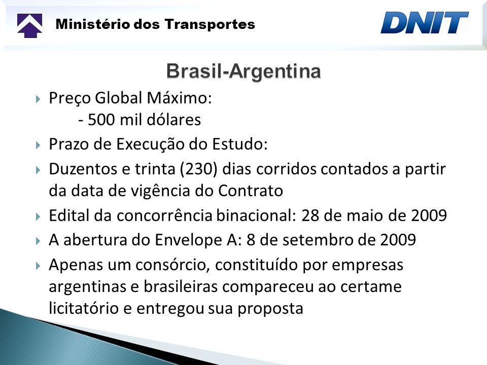 Ministério dos Transportes Recuperação da Rodovia BR-290/RS entre São Gabriel/Uruguaiana