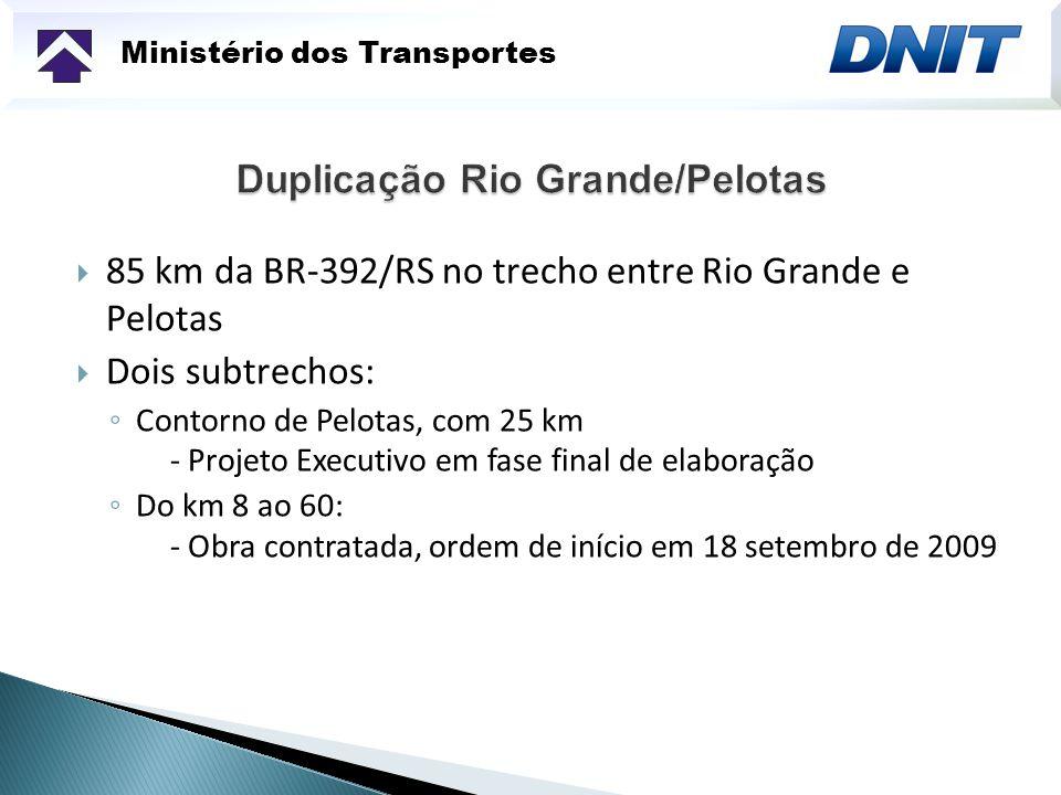 Ministério dos Transportes Recuperação da Ponte Barão de Mauá sobre o Rio Jaguarão