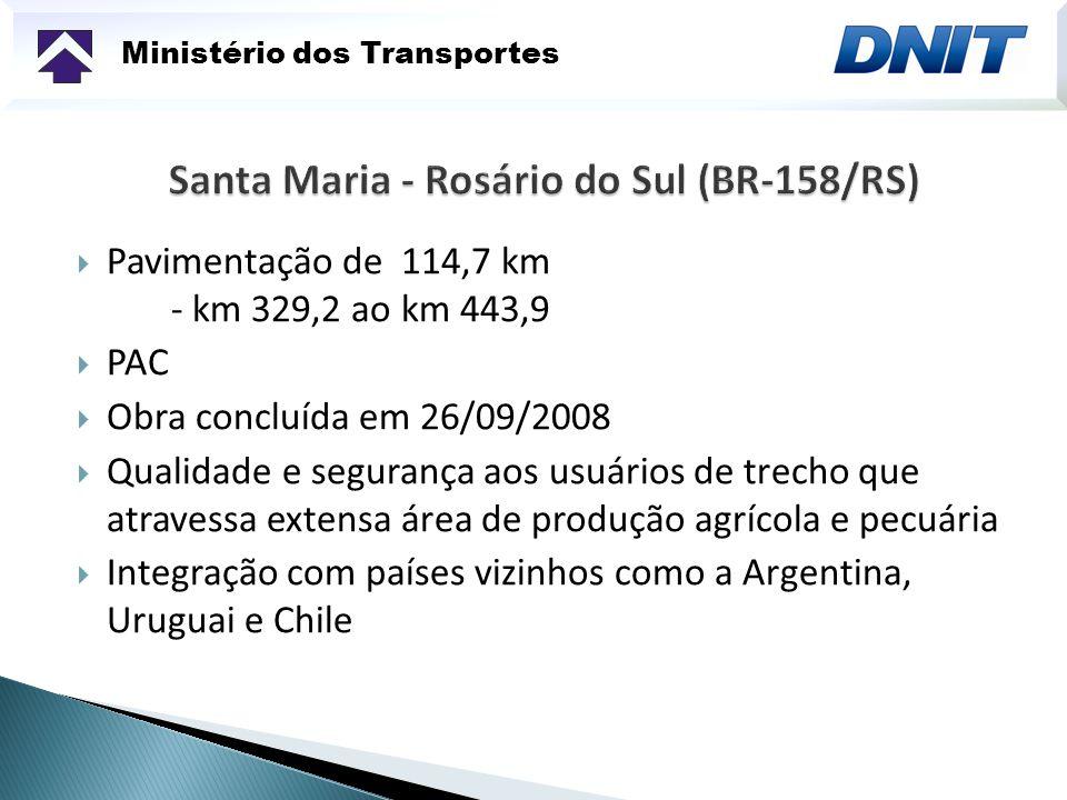 Ministério dos Transportes Duplicação Palhoça/Osório (BR-101 SUL)