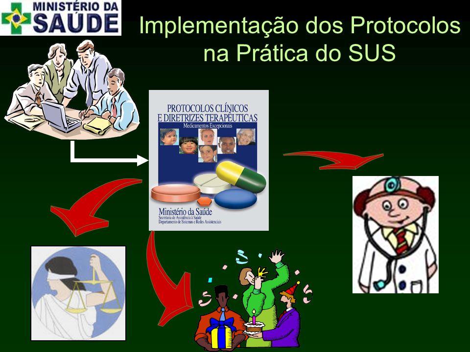 Implementação dos Protocolos na Prática do SUS