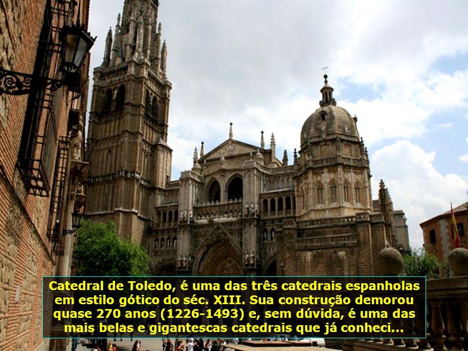 Toledo sempre foi famosa por sua tolerância religiosa e possuía grandes comunidades de judeus e muçulmanos, os quais foram expulsos pelos reis católic