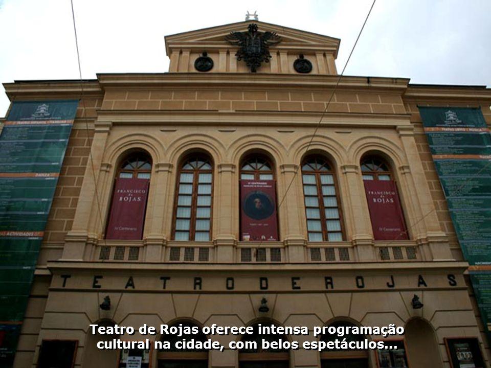 El Greco realizou aqui em Toledo suas melhores obras dentre elas O enterro do Conde Orgaz e O Batismo de Cristo...