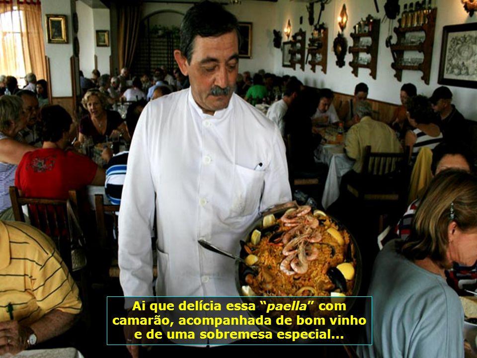Bem, como ninguém é de ferro, é chegada a hora de almoçar e Toledo oferece muitas opções de restaurantes com pratos deliciosos...