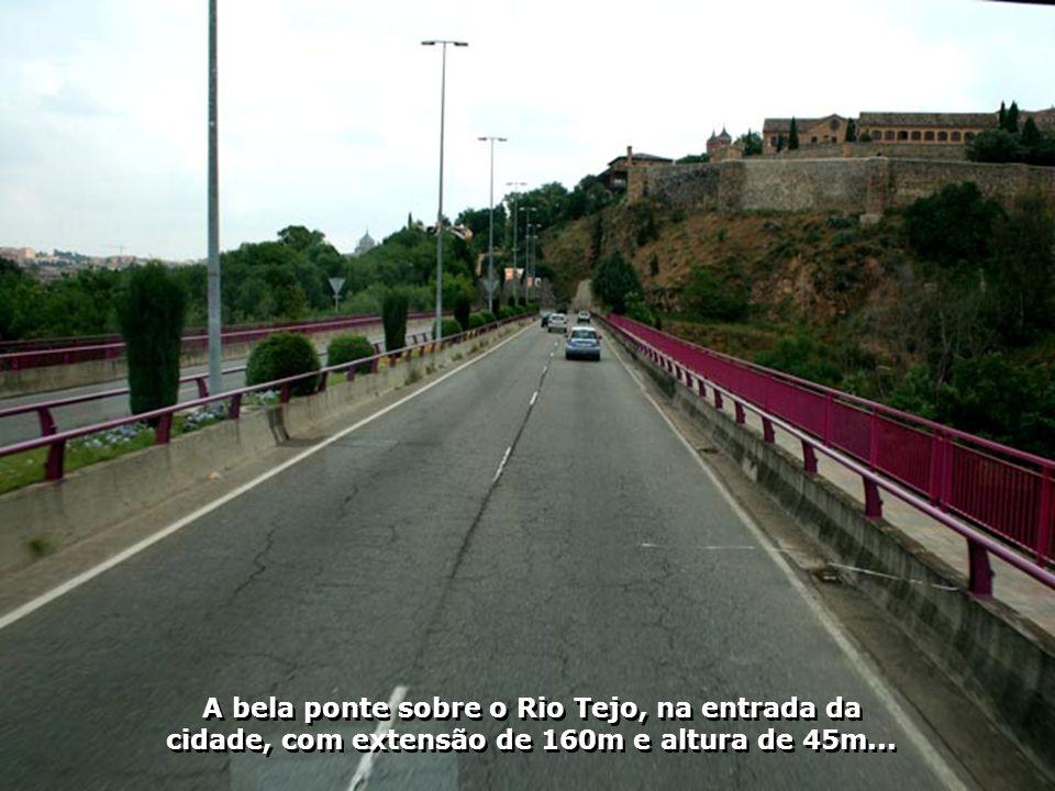 O Rio Tejo nasce aqui na Espanha e depois de percorrer 1007km, deságua no Oceano Atlântico, junto à cidade de Lisboa...
