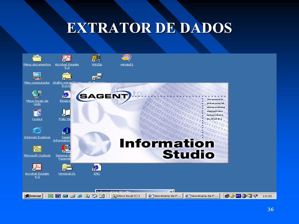 36 EXTRATOR DE DADOS