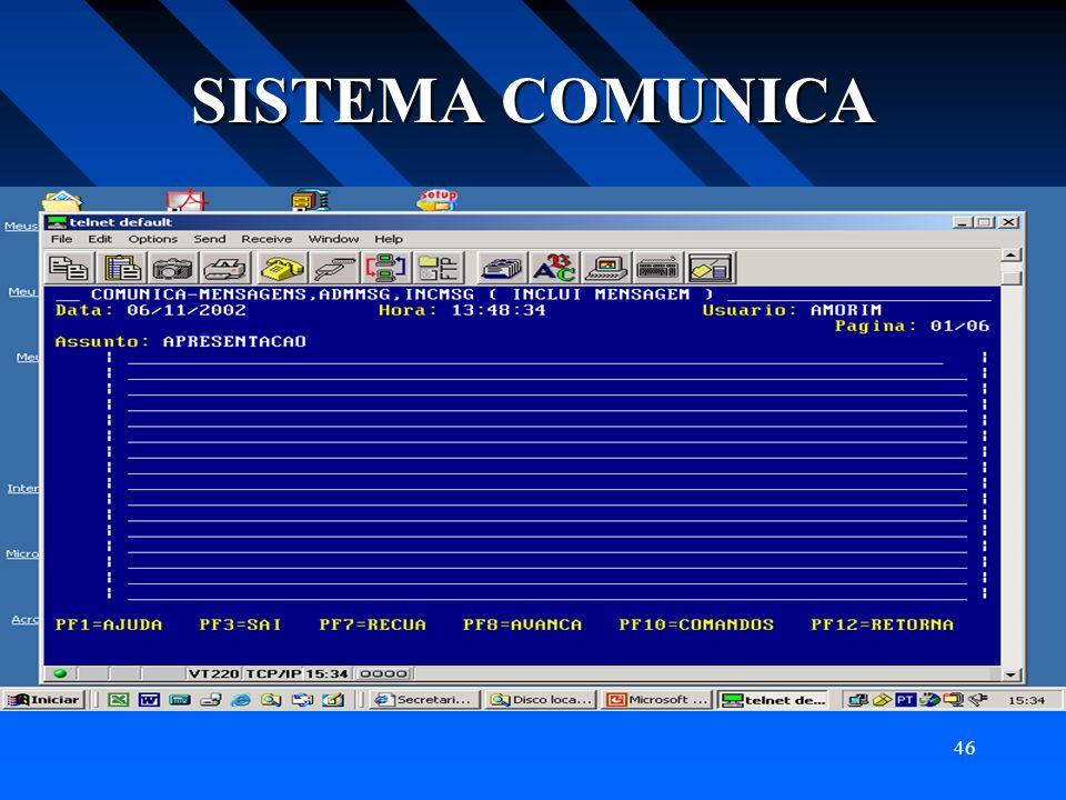 46 SISTEMA COMUNICA