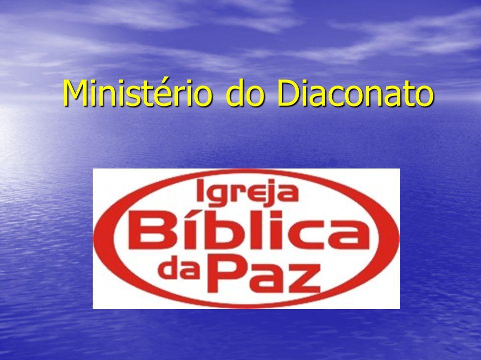 BASE BÍBLICA PARA O MINISTÉRIO DO DIACONATO O Diaconato, é um modelo ministerial neo- testamentário, não constando por isso do Velho Testamento.