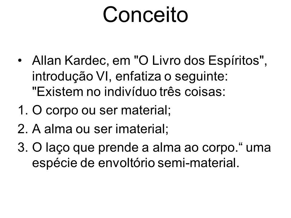 Conceito Allan Kardec, em