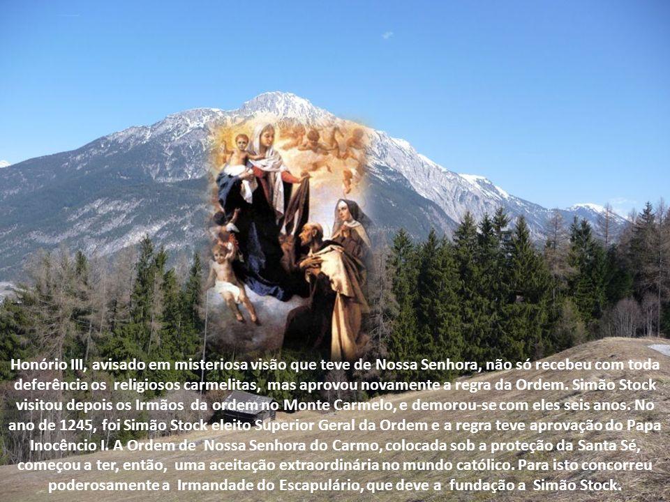 Atraído pela vida mortificada dos carmelitas recém-chegados, como também pela devoção Mariana que aquela Ordem cultivava, pediu admissão como noviço n