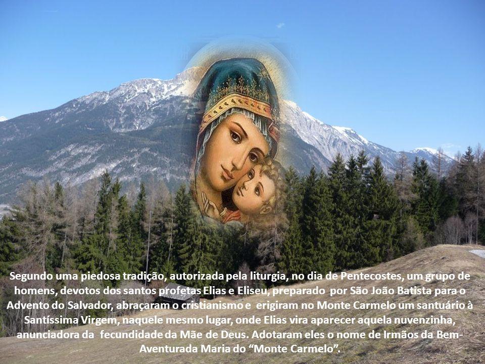 Teresa, a grande Santa da Ordem Carmelitana, reconhece no profeta Elias o fundador da Ordem. As visões da bem-aventurada Ana Catarina Emerich sobre a