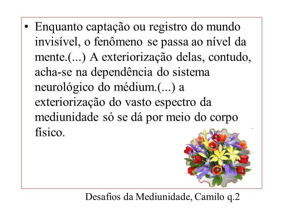 A mediunidade é inerente a uma disposição orgânica, de que qualquer homem pode ser dotado, como a de ver, de ouvir, de falar. ESE cap. XXIV, item 12 A