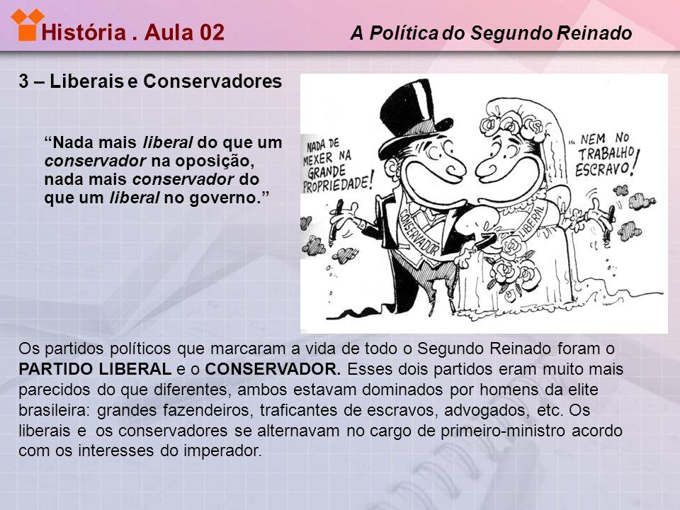 História.Aula 02 A Política do Segundo Reinado Pintura de José Correia Lima ( Cerca de 1850).