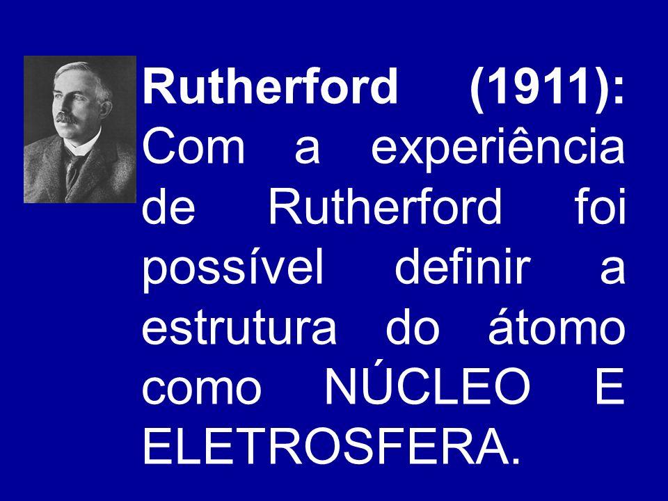 Os átomos apresentam duas partes fundamentais: O núcleo e a eletrosfera Os átomos apresentam duas partes fundamentais: O núcleo e a eletrosfera núcleo eletrosfera