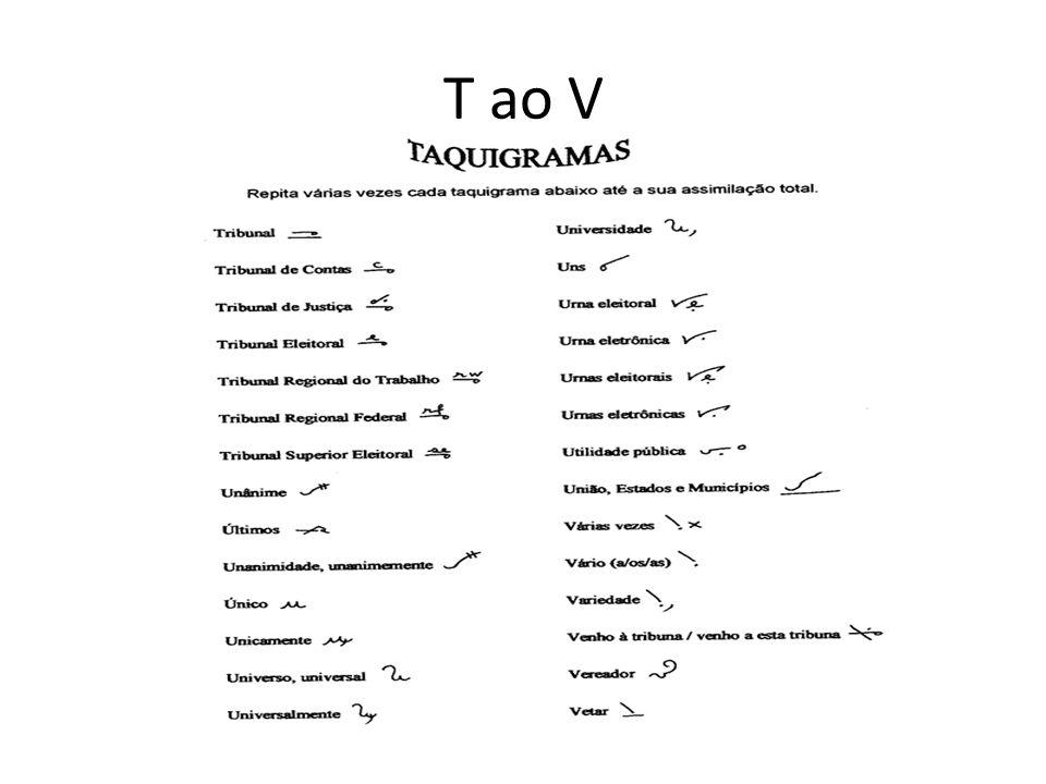 T ao V