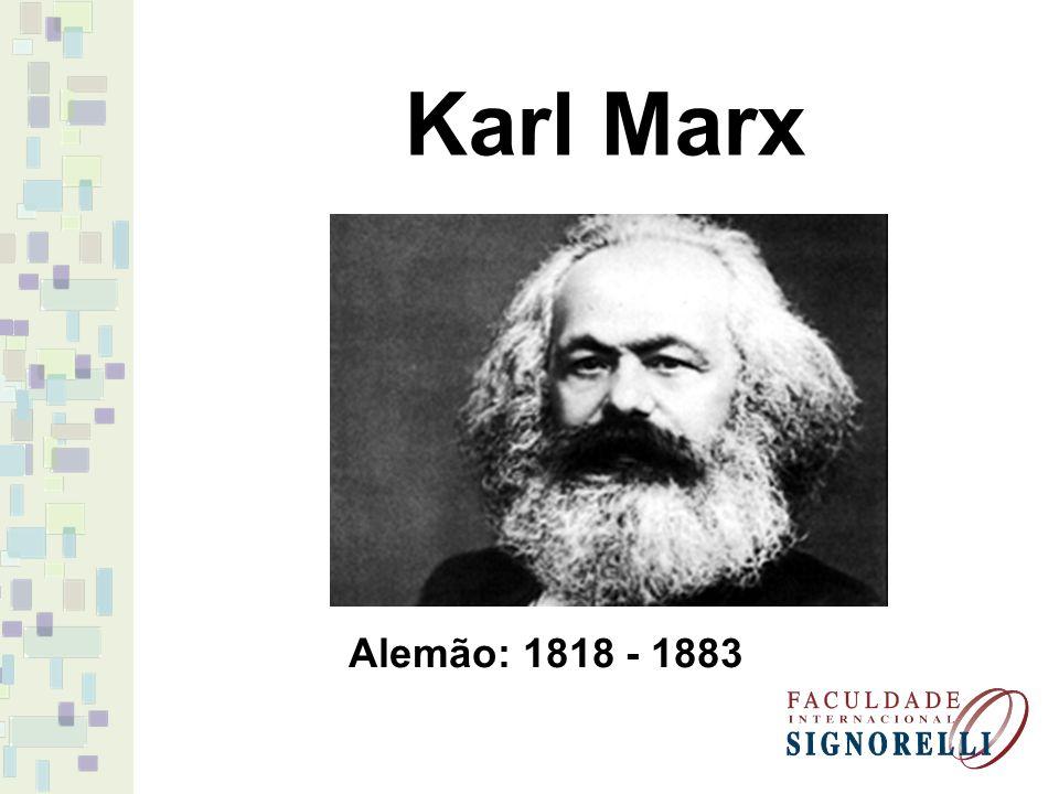 Para Marx, a política não está inscrita na natureza humana.