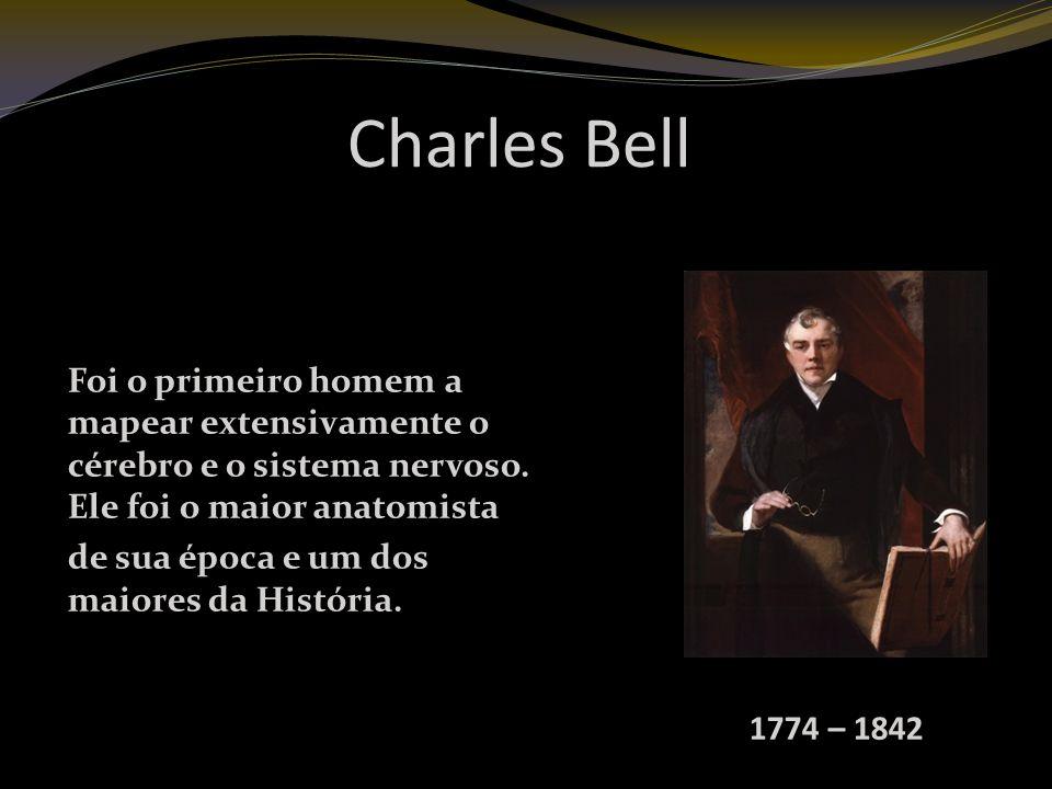 Charles Bell Foi o primeiro homem a mapear extensivamente o cérebro e o sistema nervoso.