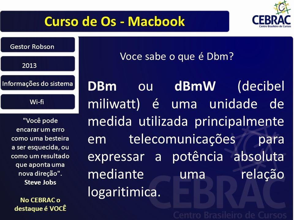 Curso de Os - Macbook