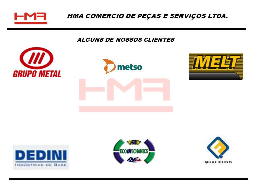 HMA COMÉRCIO DE PEÇAS E SERVIÇOS LTDA. ALGUNS DE NOSSOS CLIENTES