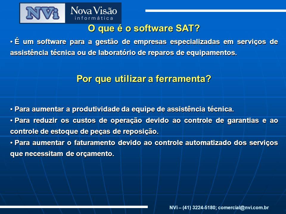 O que é o software SAT? É um software para a gestão de empresas especializadas em serviços de assistência técnica ou de laboratório de reparos de equi