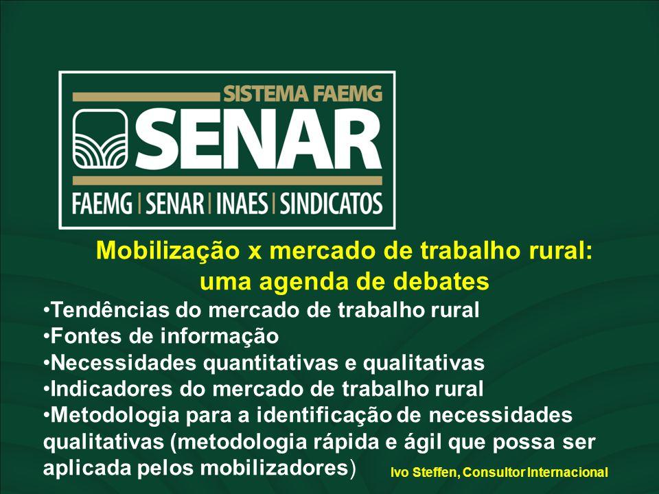 ESPAÇO RESERVADO PARA O NOME DO PROJETO ESPAÇO RESERVADO PARA O NOME DO PALESTRANTE Mobilização x mercado de trabalho rural: uma agenda de debates Ten