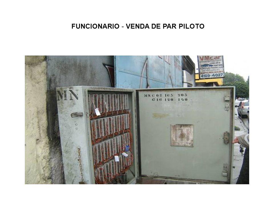 FUNCIONARIO - VENDA DE PAR PILOTO