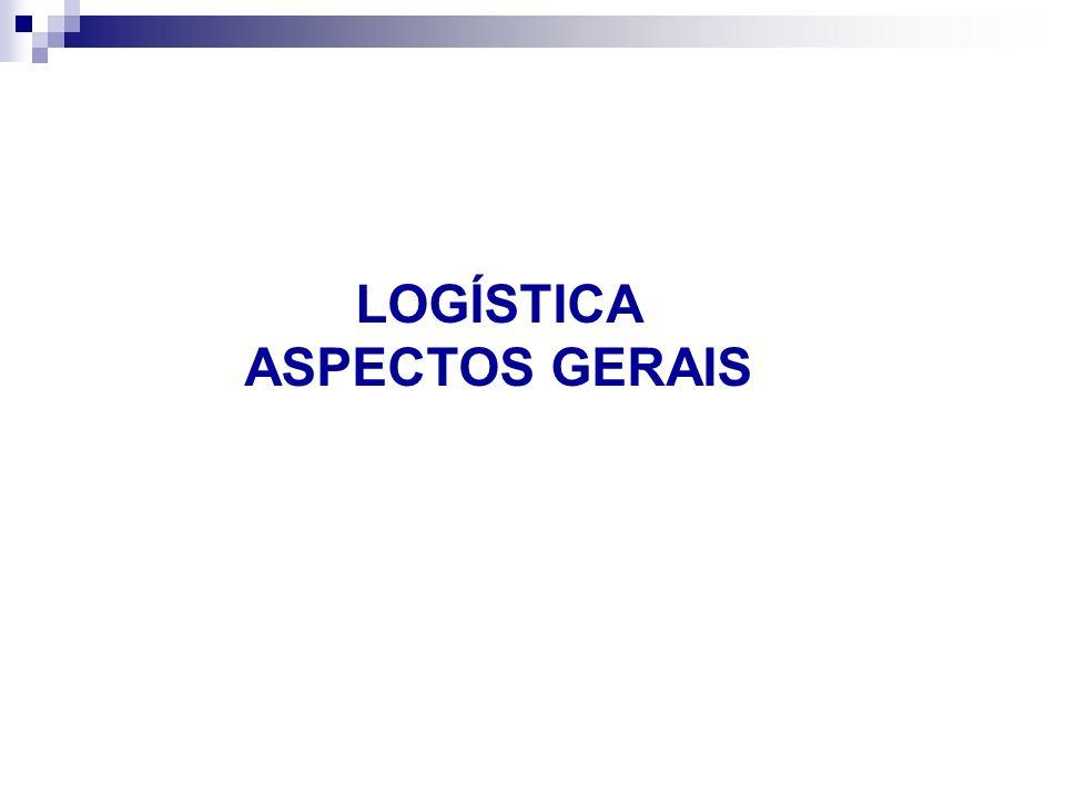 LOGÍSTICA ASPECTOS GERAIS