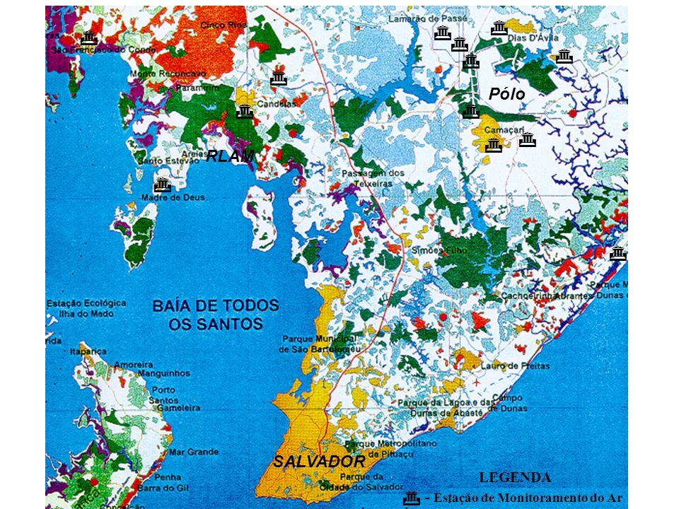Pólo RLAM SALVADOR LEGENDA - Estação de Monitoramento do Ar