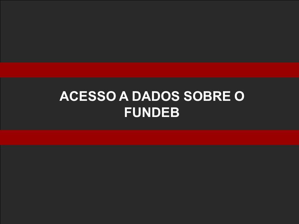 ACESSO A DADOS SOBRE O FUNDEB