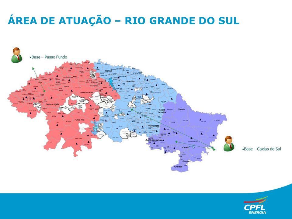 ÁREA DE ATUAÇÃO – RIO GRANDE DO SUL