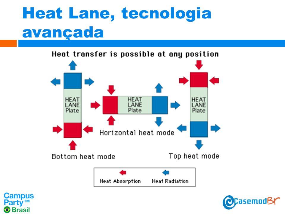 Heat Lane, tecnologia avançada