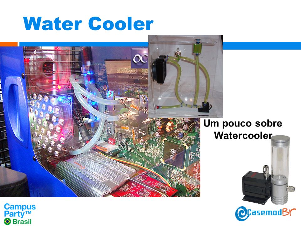 Water Cooler Um pouco sobre Watercooler