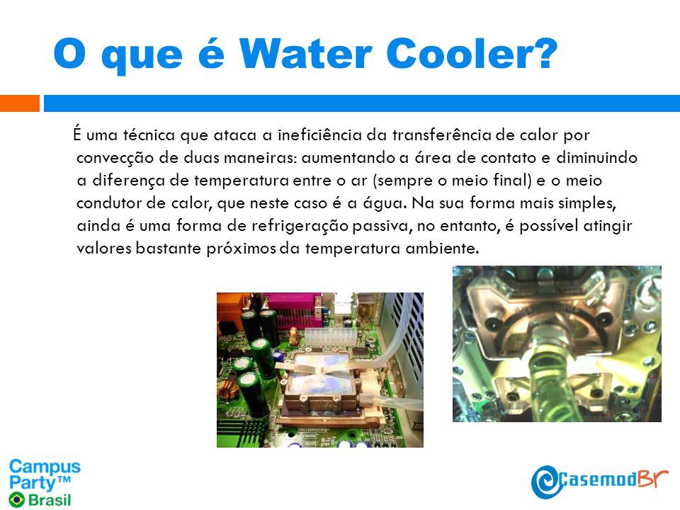 O que é Water Cooler.