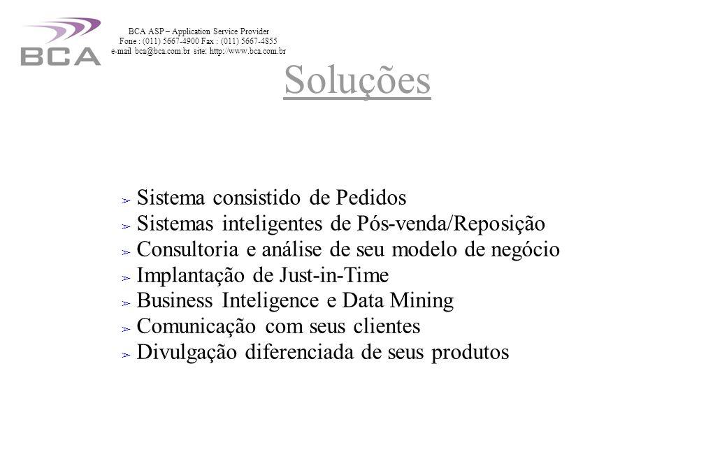 BCA ASP – Application Service Provider Fone : (011) 5667-4900 Fax : (011) 5667-4855 e-mail bca@bca.com.br site: http://www.bca.com.br UPS (no break) Liebert de 150Kva e 2.7 toneladas