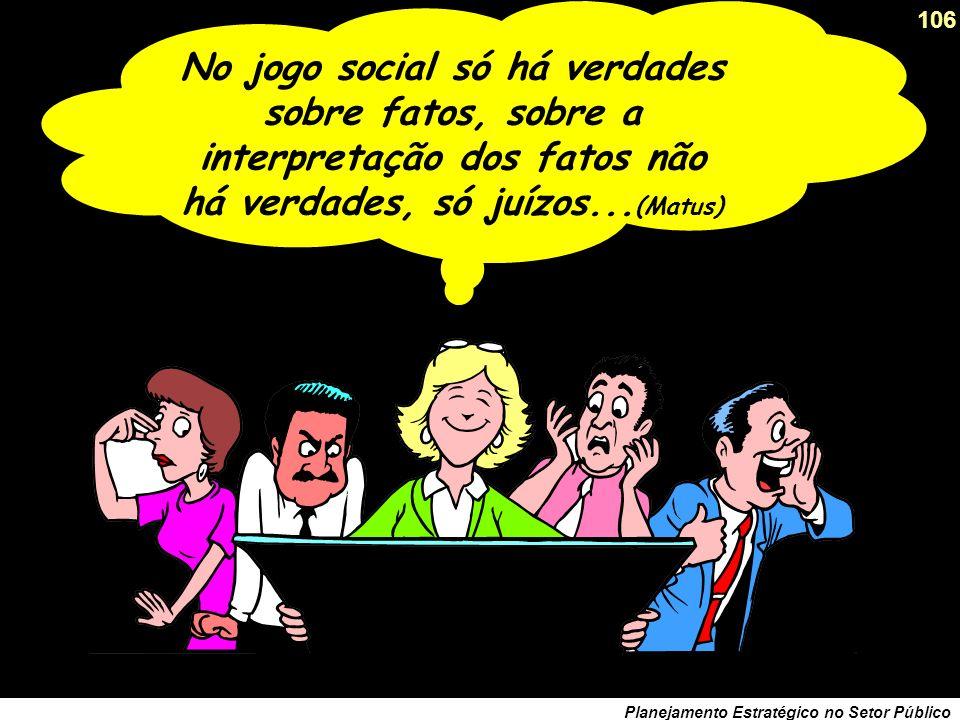 105 Planejamento Estratégico no Setor Público Ator Social e a razão comunicativa em Habermas Os atores sociais interagem através da linguagem e da arg