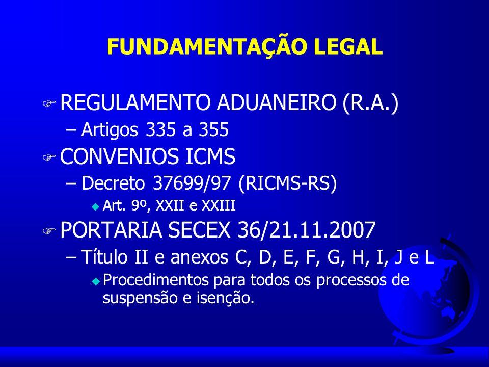 MODALIDADES DE DRAWBACK SUSPENSÃO: consiste na suspensão de tributos e taxas na importação de produto a ser utilizado em processo de industrialização de mercadoria a ser exportada.