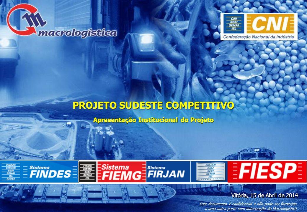 51 Construção da Ferrovia Norte-Sul entre Panorama e Rio Grande NomeConstrução da ferrovia Norte-Sul entre Panorama e Rio Grande – trecho de 1.620 km ModalFerroviário ResponsávelVALEC Resultado EsperadoIntegração ferroviária com o restante do Brasil em bitola de 1,60 metro, provendo maior competitividade entre os modais Valor InvestimentoR$ 7,29 Bilhões (Fronteira PR – Rio Grande: R$ 6.341 Bi) Fonte FinanciamentoPAC Modelo de Financiamento Público Estudo de ViabilidadeNão (Deve sair até Jul-2013) EIA-RIMANão Projeto BásicoNão EditalNão Início PrevistoIndefinido Conclusão PrevistaIndefinido Status (Abr-12)Planejado Mapa Esquemático do Projeto Descrição do Projeto 80 Fonte:MT, Análise Macrologística Para cada projeto listado, serão mapeados os valores envolvidos, a fonte de financiamento e o status das obras EXEMPLO