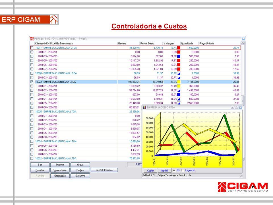 ERP CIGAM Controladoria e Custos