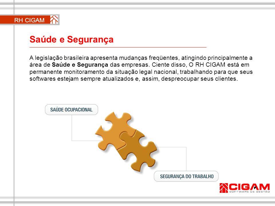 Saúde e Segurança A legislação brasileira apresenta mudanças freqüentes, atingindo principalmente a área de Saúde e Segurança das empresas. Ciente dis
