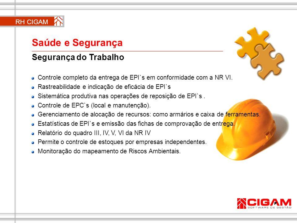 Segurança do Trabalho Controle completo da entrega de EPI`s em conformidade com a NR VI. Rastreabilidade e indicação de eficácia de EPI`s Sistemática