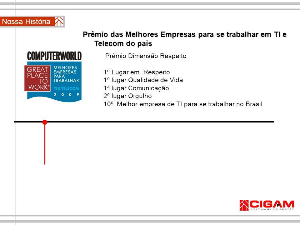 Prêmio das 100 Melhores Empresas para se trabalhar do país pela Revista ÉPOCA 2010 2010 Troféu Bronze no Prêmio Qualidade RS.