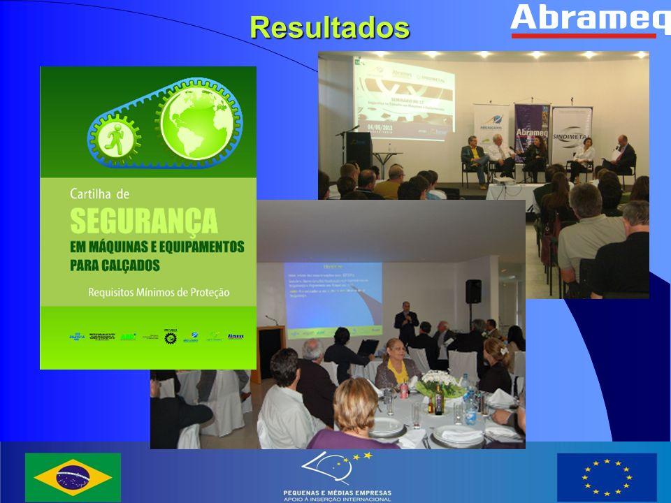Diálogo entre empresários, trabalhadores e poder público; Conclusões Integração do conhecimento técnico, operacional e de normatização Laços de cooperação entre entidades brasileiras e italianas Direcionamento da normatização alinhada com a visão do setor produtivo; Aprendizado conjunto entre os atores; Superação de paradigmas