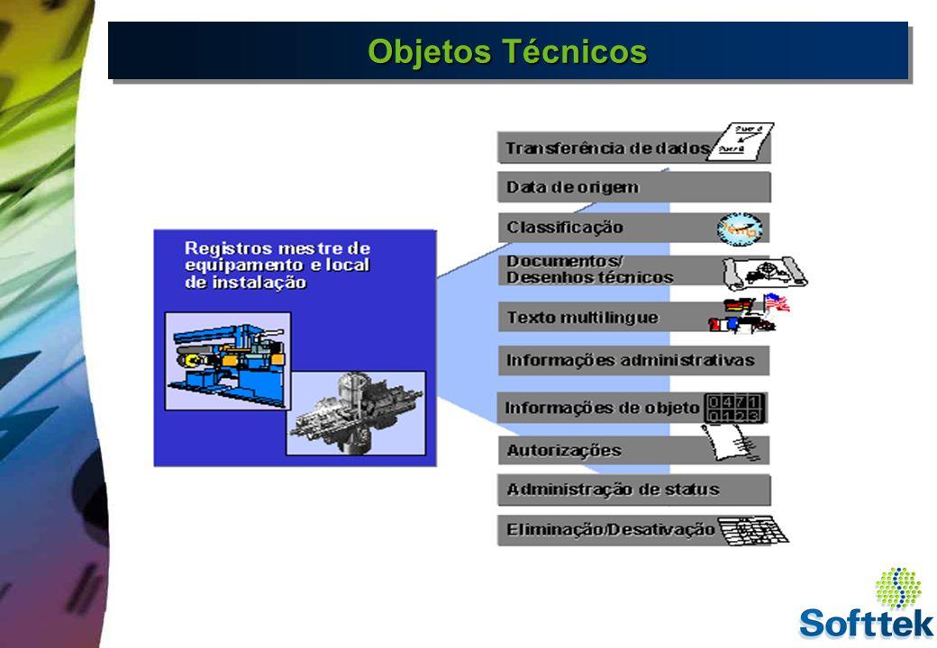 Locais de Instalação O local de instalação do business object é uma unidade organizacional dentro de Logística, que estrutura os objetos de manutenção de uma empresa de acordo com critérios funcionais, relacionados ao processo ou espaciais.
