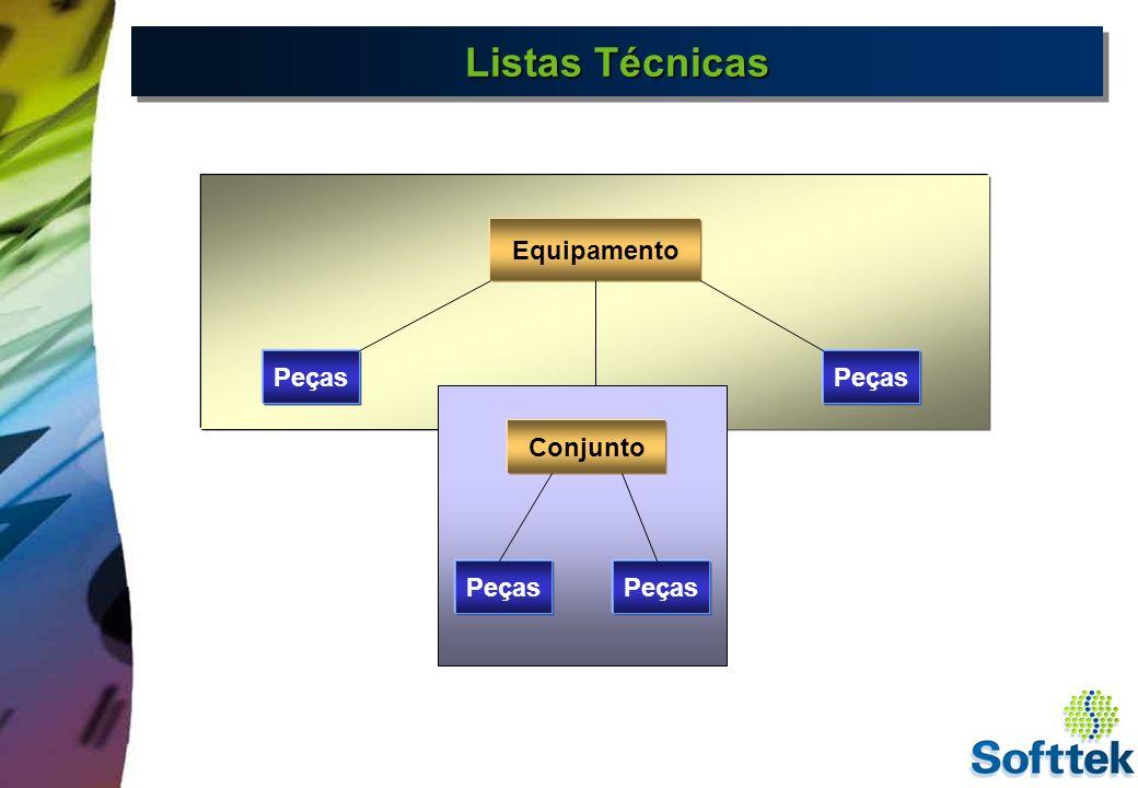 Material Equipamento Documento Material Documento Material BOM Equipamento BOM Documento BOM Categorias da BOM