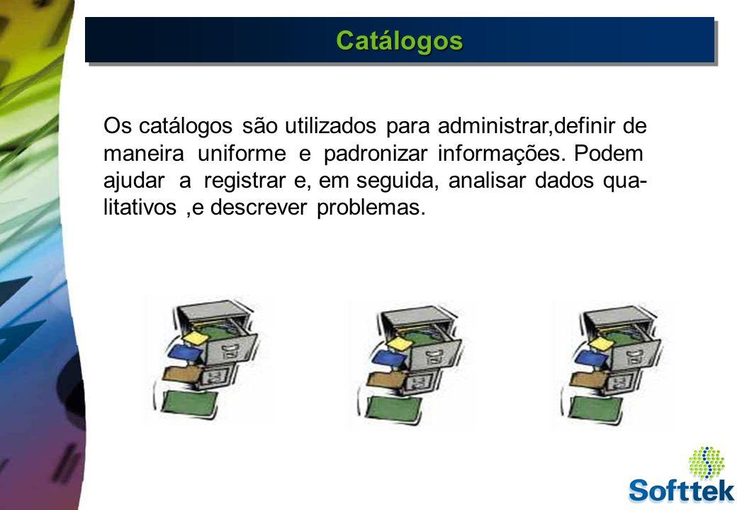 Tipos de Catálogos Causas Ações Parte do Objeto Sintoma do Dano 5 8 B C Medidas 2 Em manutenção temos 05 catálogos standard definidos pelo sistema SAP R/3.